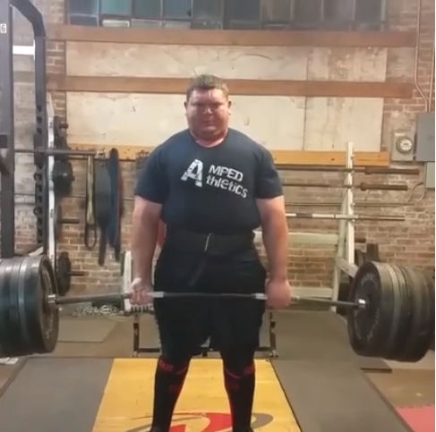 Dominick Matrana (Amped Athletics Athlete) 855lb deadlift