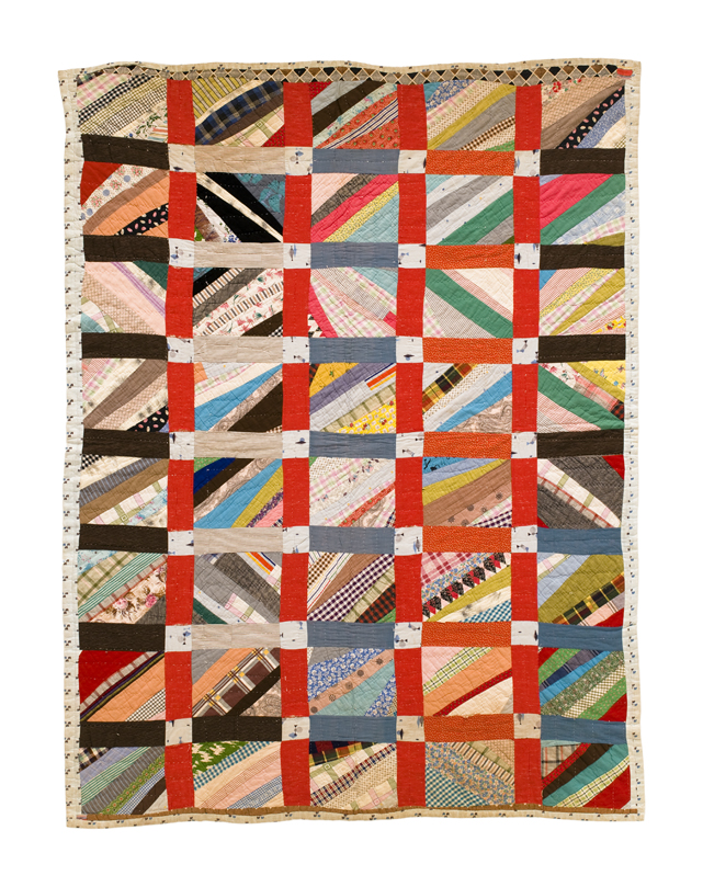 String quilt from   Unconventional & Unexpected   by Roderick Kiracofe