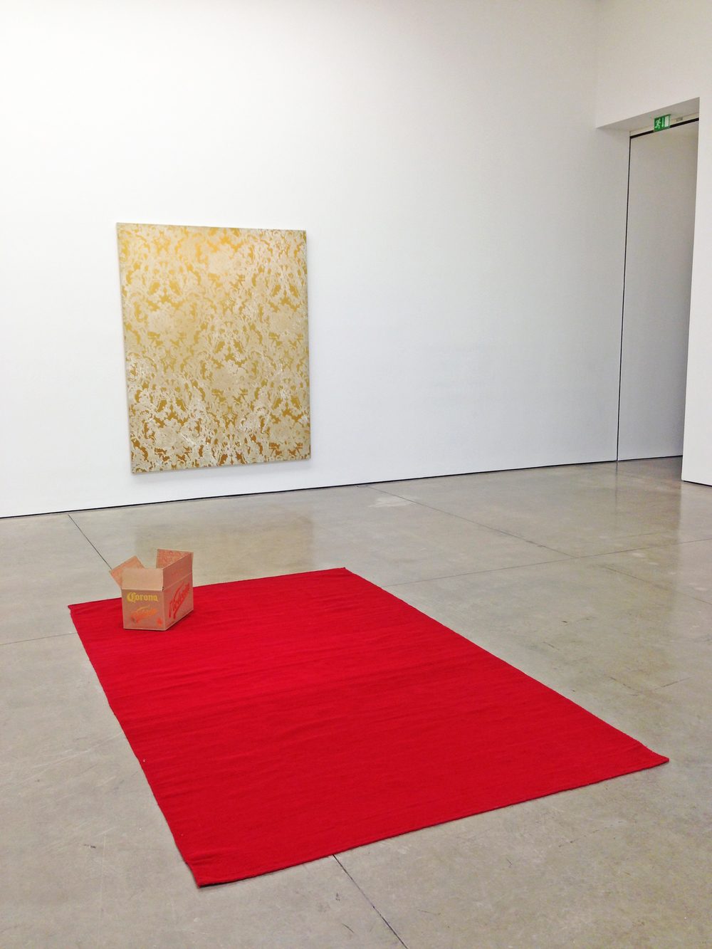 Wall: Rudolf Stingel,  Untitled , 2007