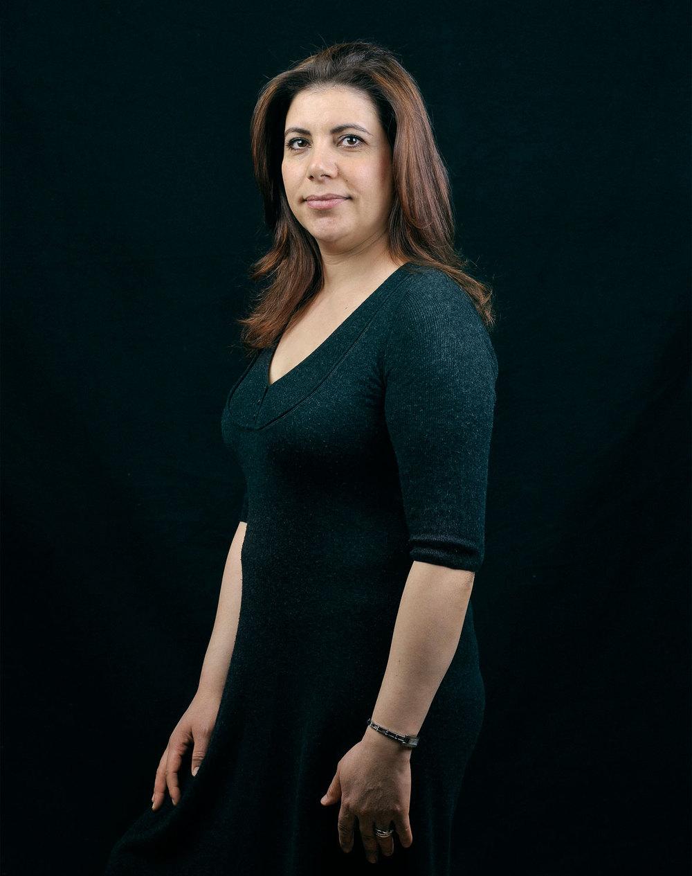 Atika Calvo, originaire d'Algérie