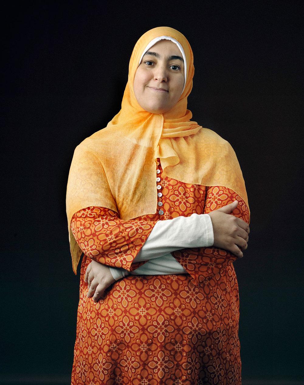 Naïma Serrouk, originaire du Maroc