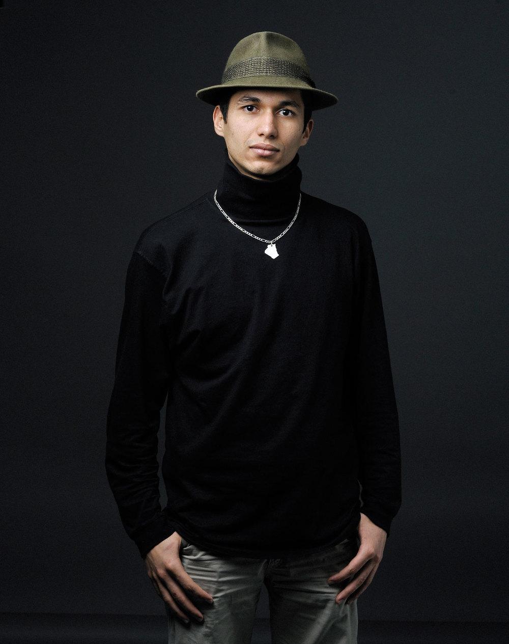 Riad Gacem, originaire d'Algérie