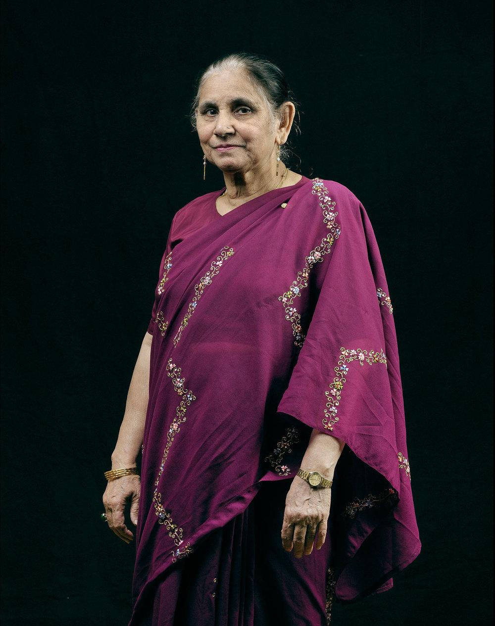 Zareena Khamis, originaire du Pakistan