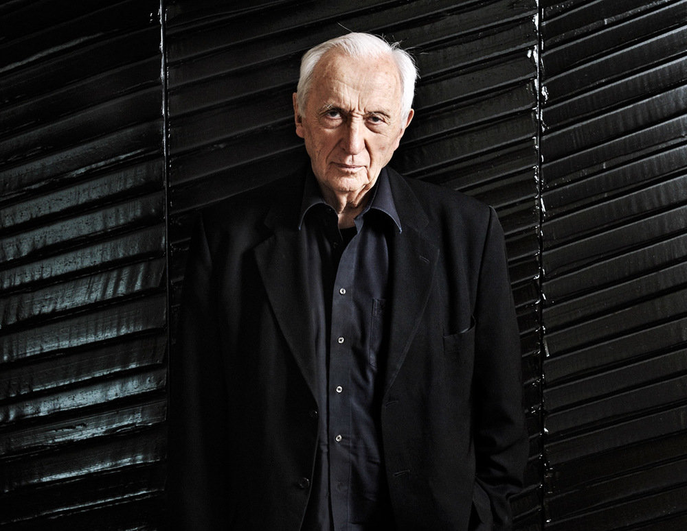 Pierre Soulages Copyright Bertrand Cottet