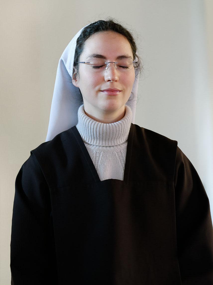 Soeur Mireille-Teresa, Carmélite au couvent du Carmel, Le Paquier.