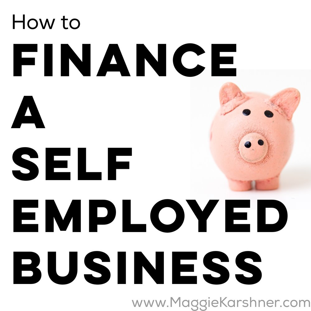 how-to-finance-a-self-employed-business