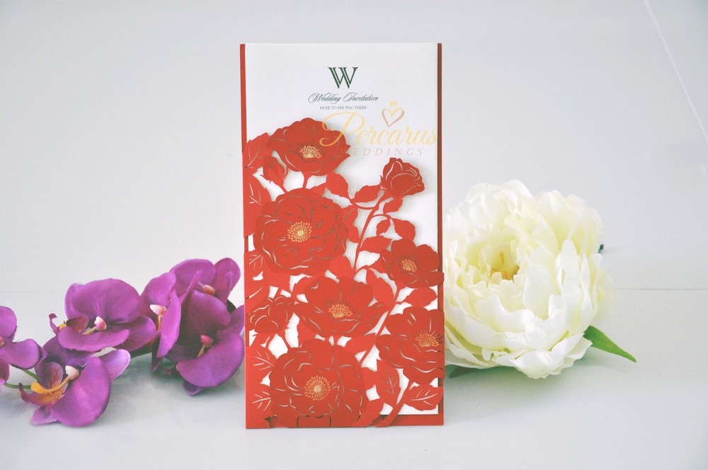 delicate-red-floral-laser-cut-invitation