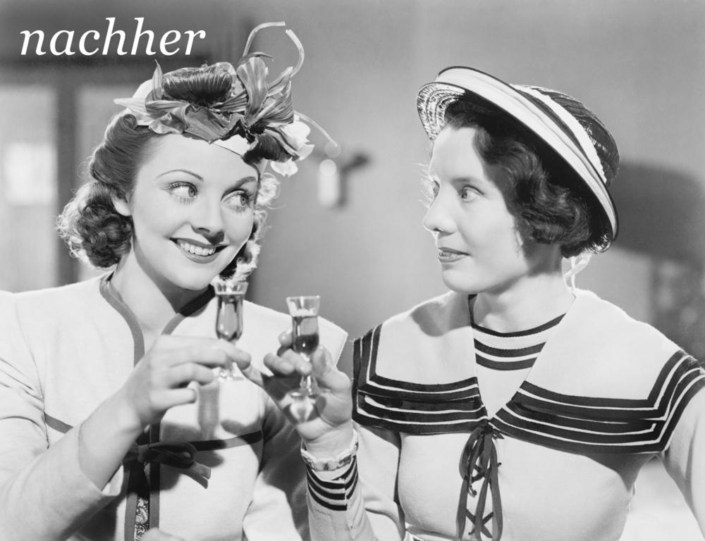 Frau 1   sollte zuerst etwas skeptisch sein, bis   Frau 2   sie durch Eigenerfahrung überzeugt. Wichtig:   Beide Frauen   lachen darauf hin herzhaft zusammen. Wir sehen: Logo, Claim und Produktshot.   Fertig ist die Laube.