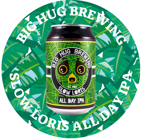 SLOW LORIS 4% - Inspired by Founders All Day IPA, Slow Loris is all about the huge amounts of Sorachi Ace combined with English Admiral hops. A complex malt bill blending pale ale malts and 20% oats to give a creamy mouthfeel with a depth of flavour.Darker in colour we use Carapils, Crystal and Munich malt. Distinctly different, Slow Loris has a taste profile that is earthy and nutty with notes of lemongrass, coconut and burnt orange. Pairs well with root vegetables, darker meat, game and earthy dishes