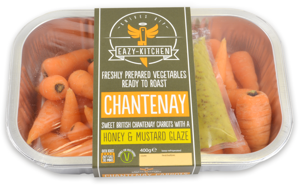 Eazy-Kitchen Carrot Sleeve Packaging Design AD Profile