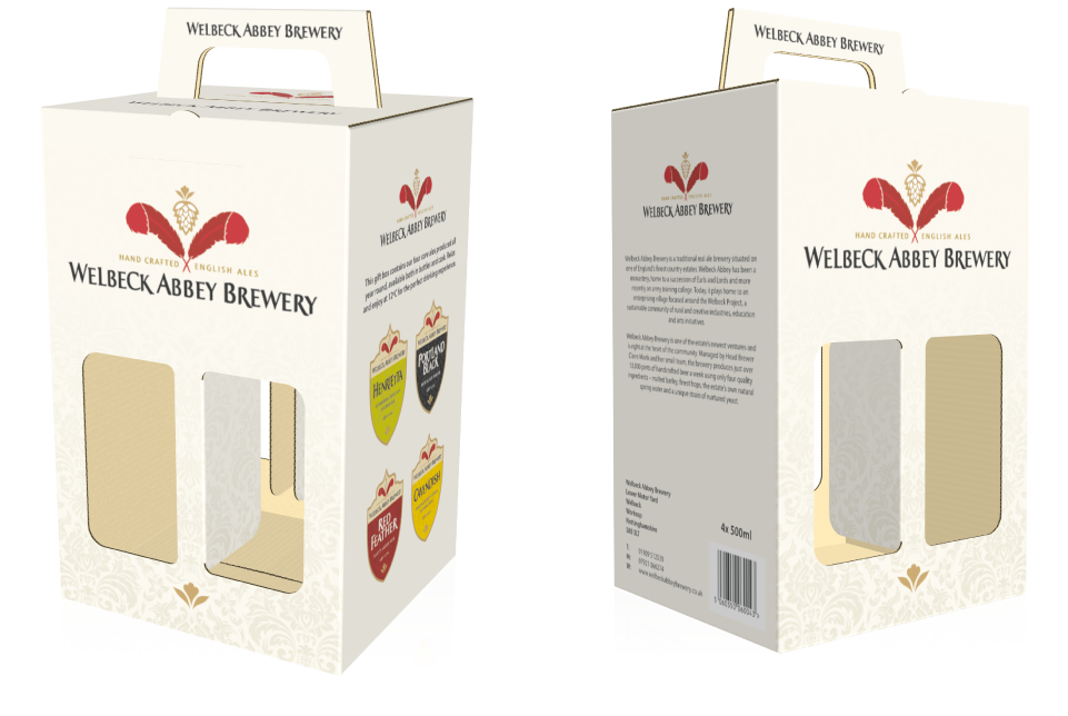 Welbeck Abbey Brewery Beer Box by AD Profile