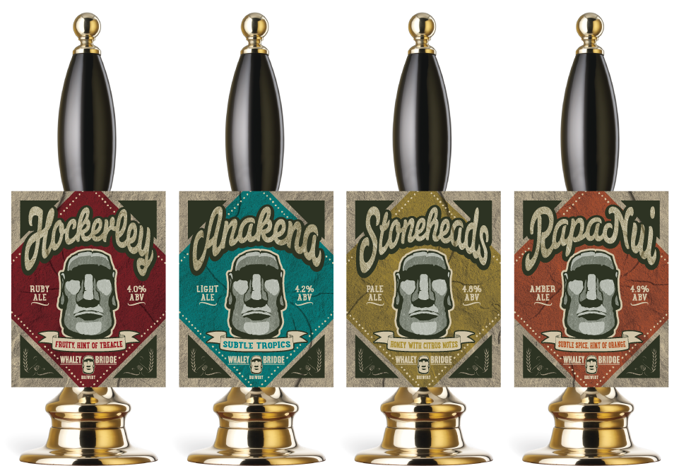 Brewery Pump Clip Graphic Design by AD Profile