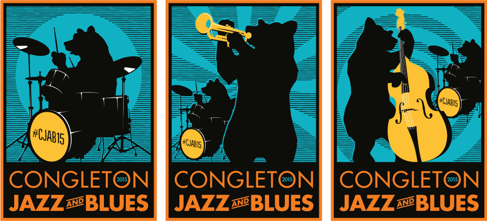 Congleton Jazz and Blues 3 bears by AD Profile