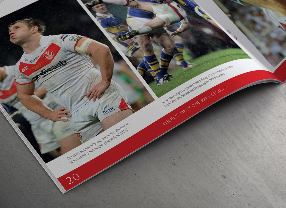 Paul Clough Testimonial Brochure by AD Profile