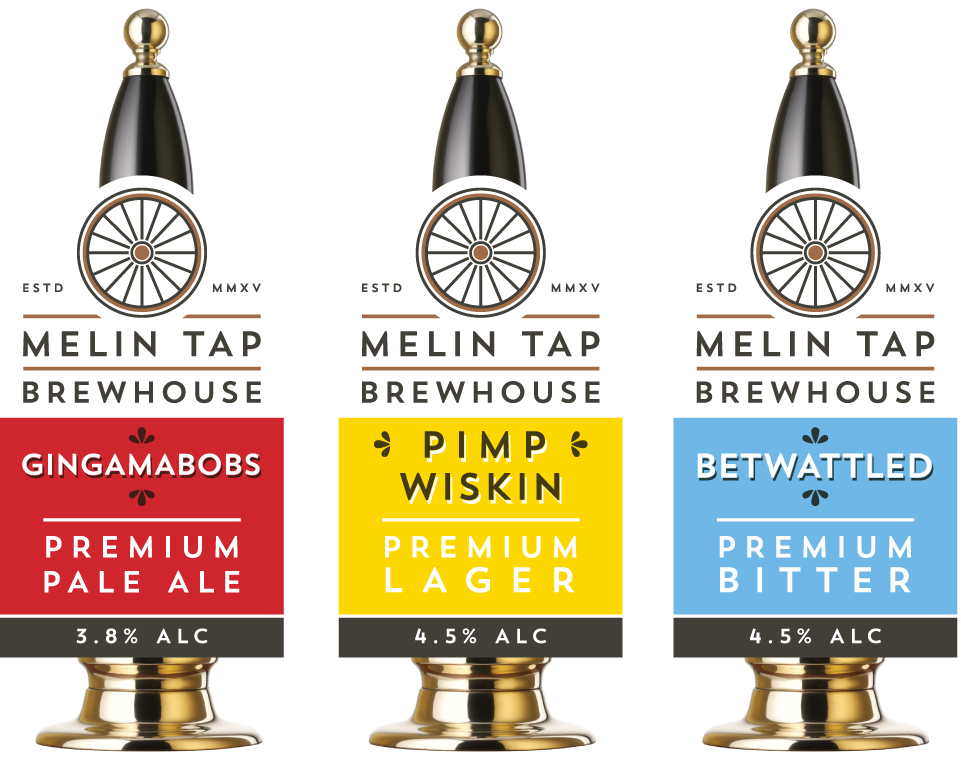 Melin Tap Brewhouse pump clip design by AD Profile