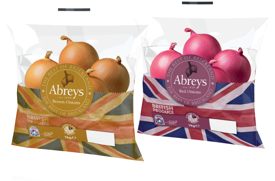 Abrey Farms Onion Bags by AD Profile Design Works