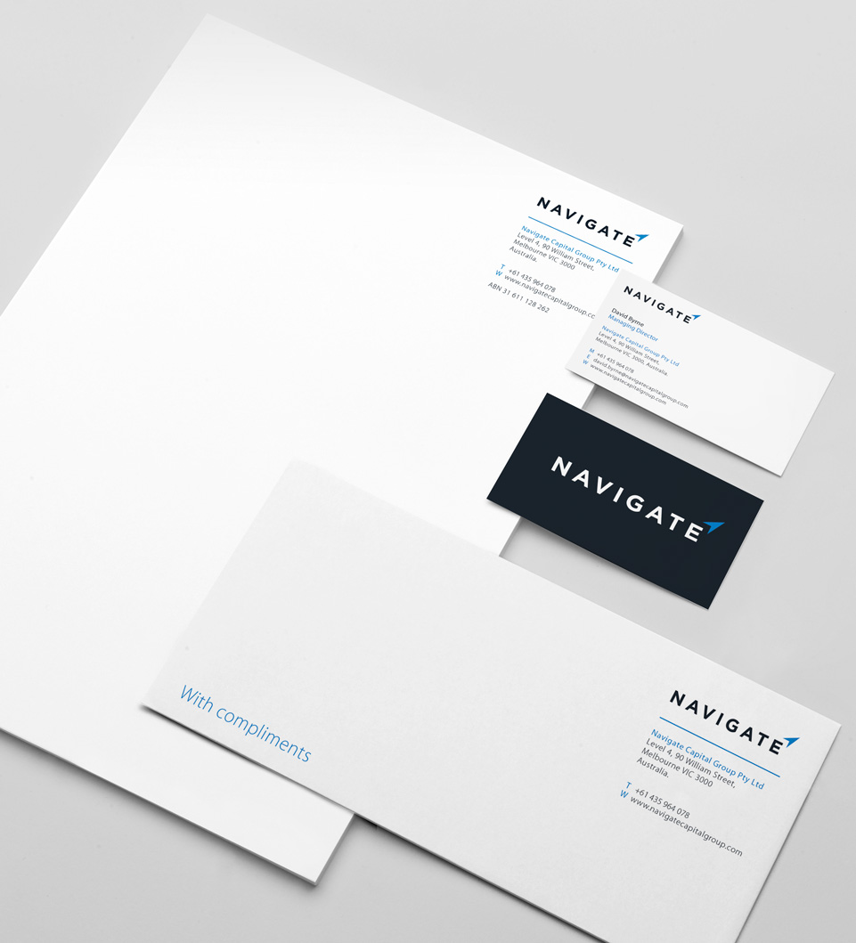 Navigate Stationery Design by AD Profile