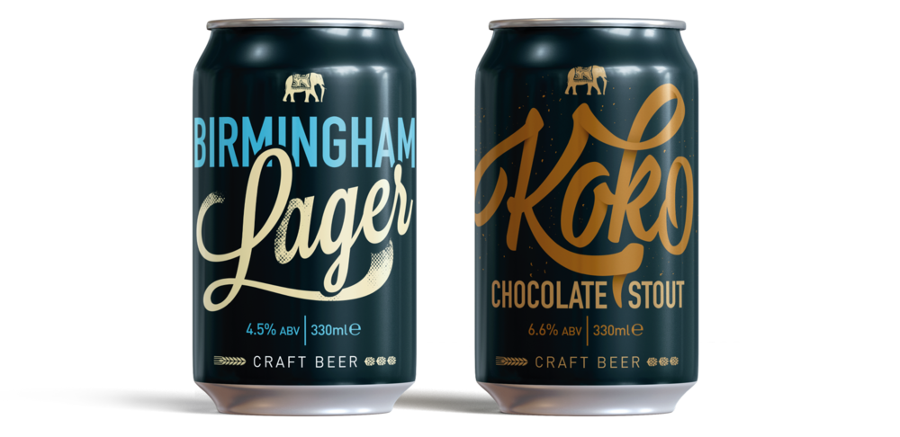 Indian Brewery Craft Beer Can designs by AD Profile