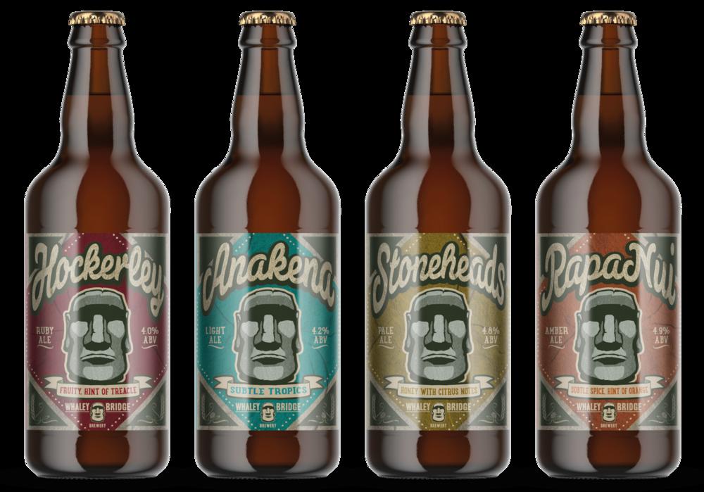 Whaley Bridge Bottle Label Desgins by AD Profile