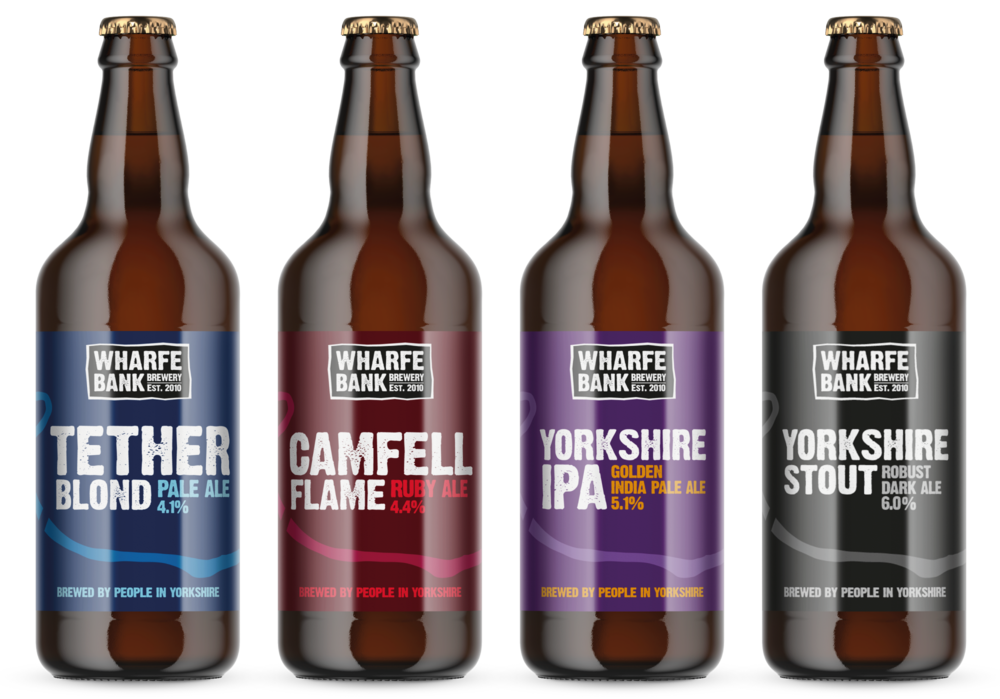 Wharfe Bank Brewery Label Design AD Profile