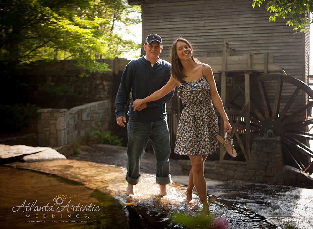Engagement Photography by  www.atlantaartisticweddings.com