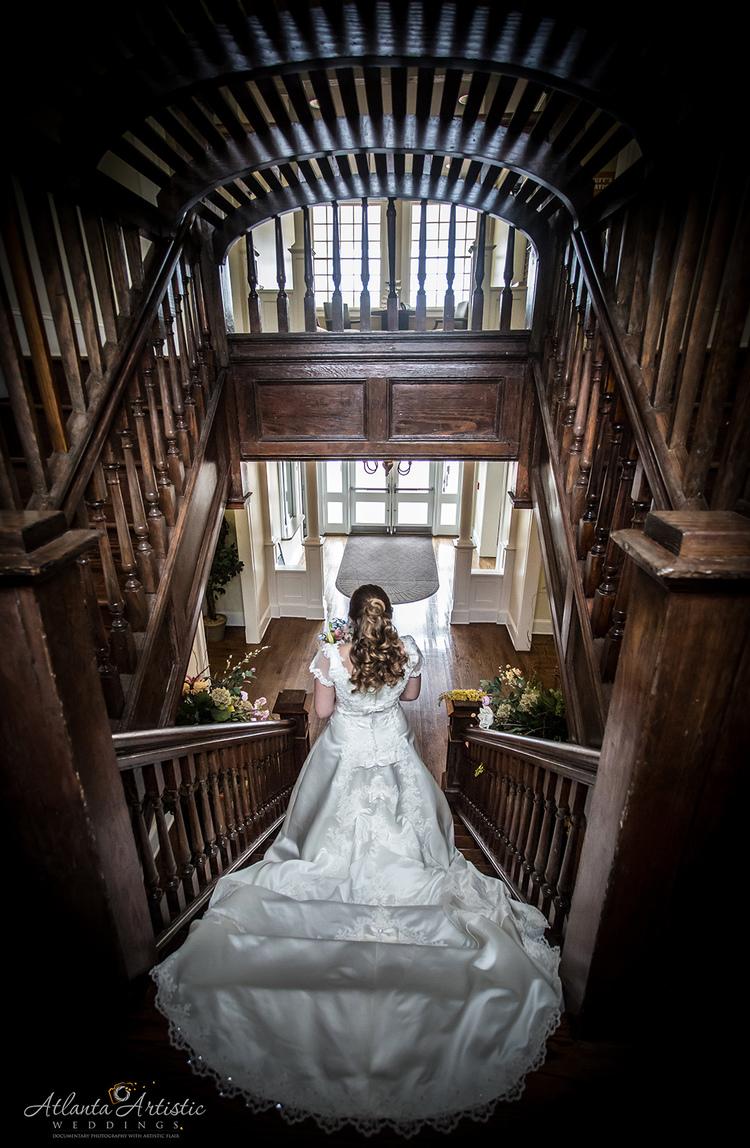 Beautiful Atlanta Wedding At Taylor Brawner Hall Artistic