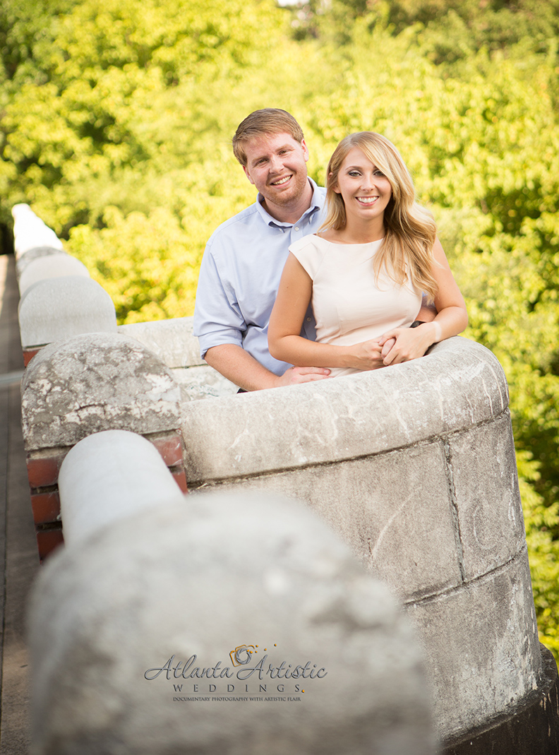 Engagement Photography in Atlanta by www.atlantaartisticweddings.com