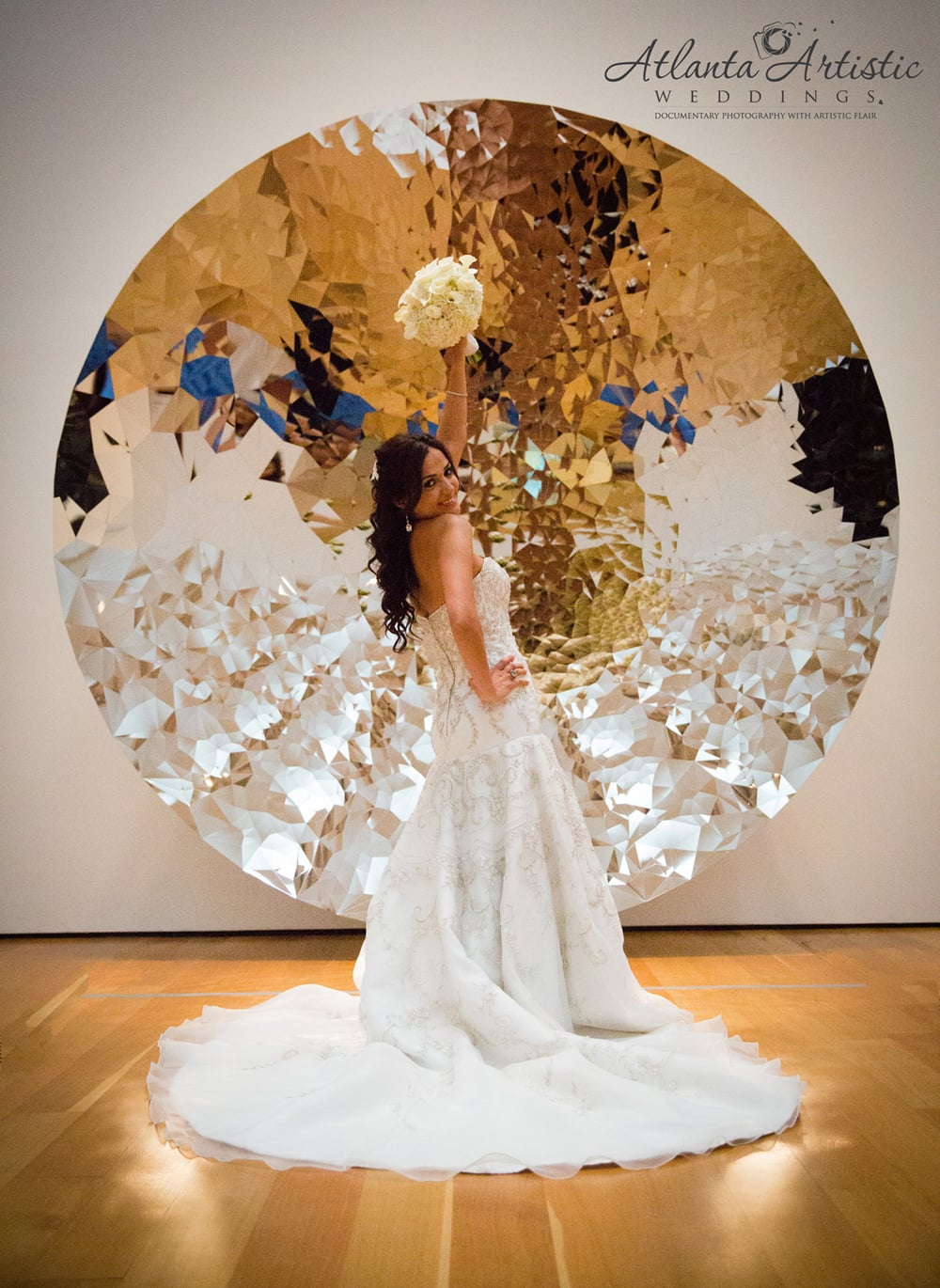 The High Museum of Art is wonderful venue for your wedding - by www.atlantaartisticwedding.com