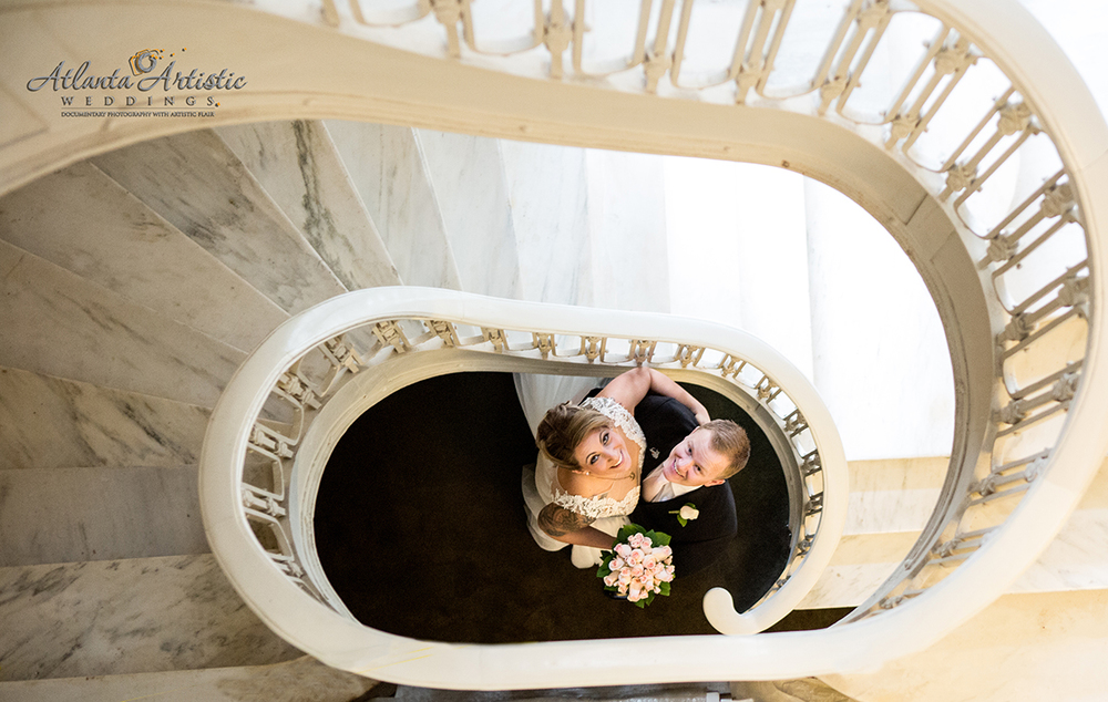 Atlanta Artistic Weddings Had the Honor of Shooting this wonderful couple at the Georgian Terrace