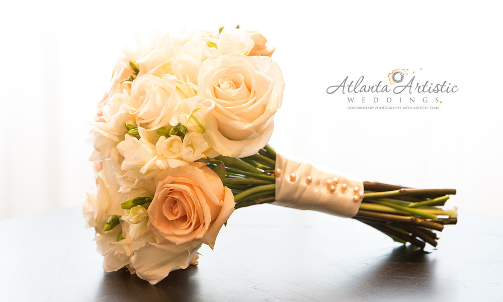 Bridal Bouquet by Atlanta Artistic Weddings