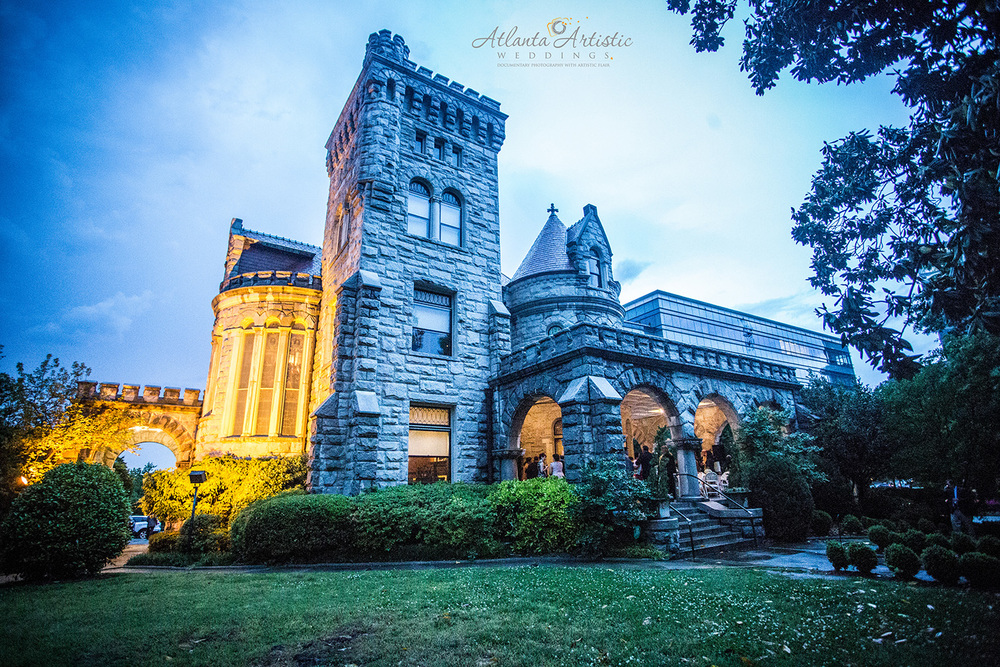 Rhodes Hall Wedding Photography by Atlanta Artistic Weddings