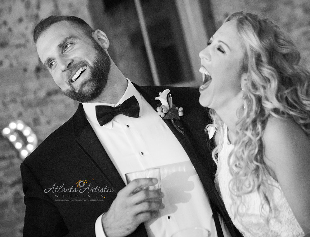 Photo journalistic wedding photographers at Atlanta Artistic Weddings