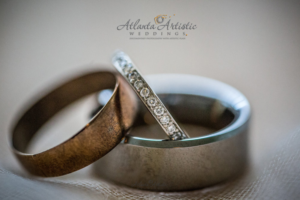 Grandmothers Ring used at Atlanta Wedding, photography by AtlantaArtisticWeddings