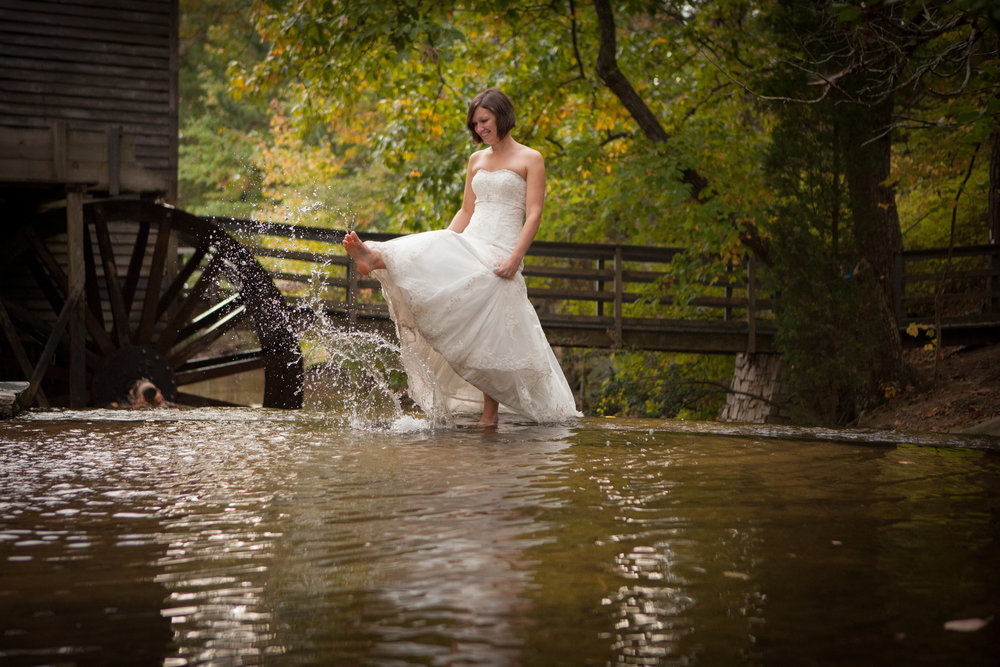 We are giving away free Trash the Dress Shoots with every wedding photography package