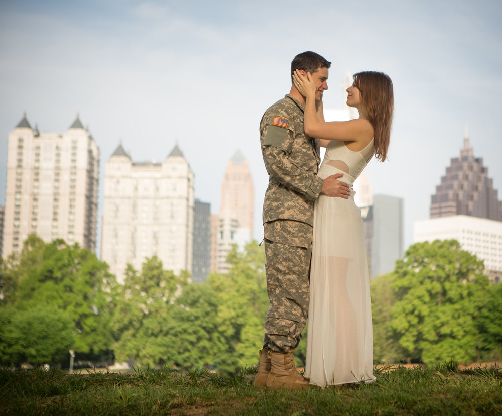 Engagement photography by the Atlanta Wedding Photographers at AtlantaArtisticWeddings