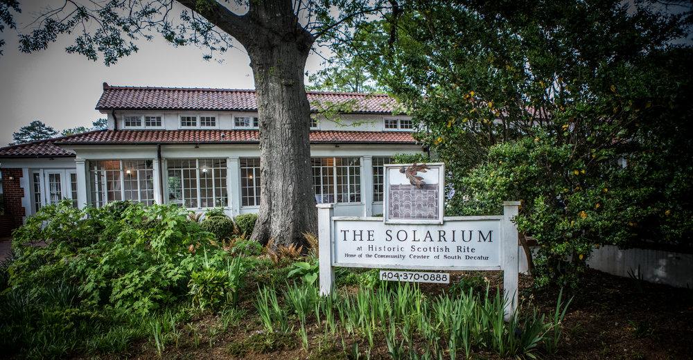 Atlanta Wedding Photographers at AtlantaArtisticWeddings photograph at historic Venue The Solarium in Decatur Georgia