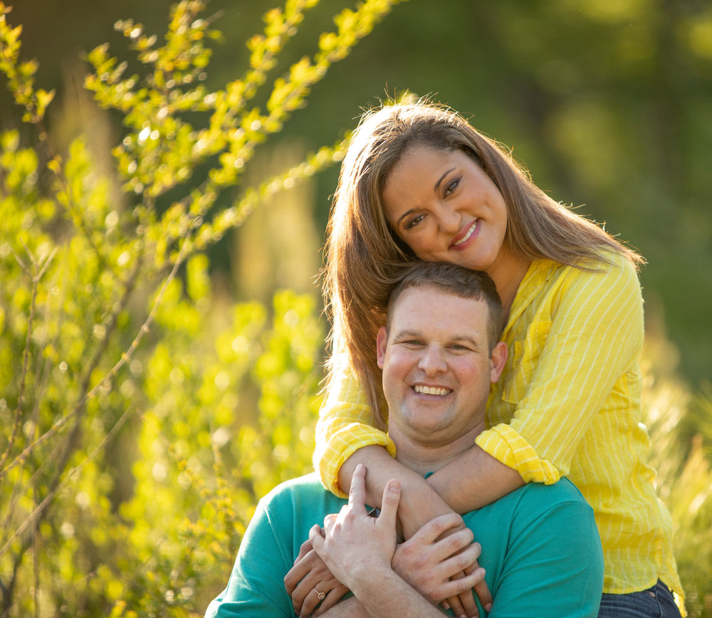Engagement Photo by the Atlanta Wedding Photographers at AtlantaArtisticWeddings