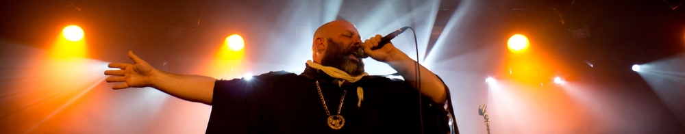 Sage Francis live at La Laiterie in Strasbourg, FR ,31 OCT 2014 - Photo by Matt Sion