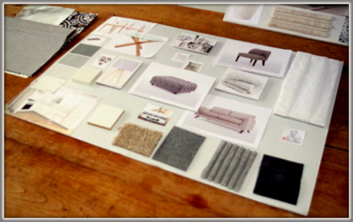 Moodboard - in the beginning...