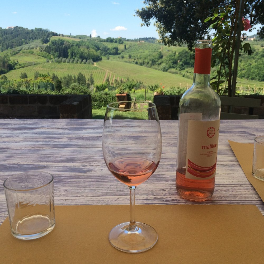 Blissful Yoga Retreat in Tuscany - Tuscan Rosé Wine