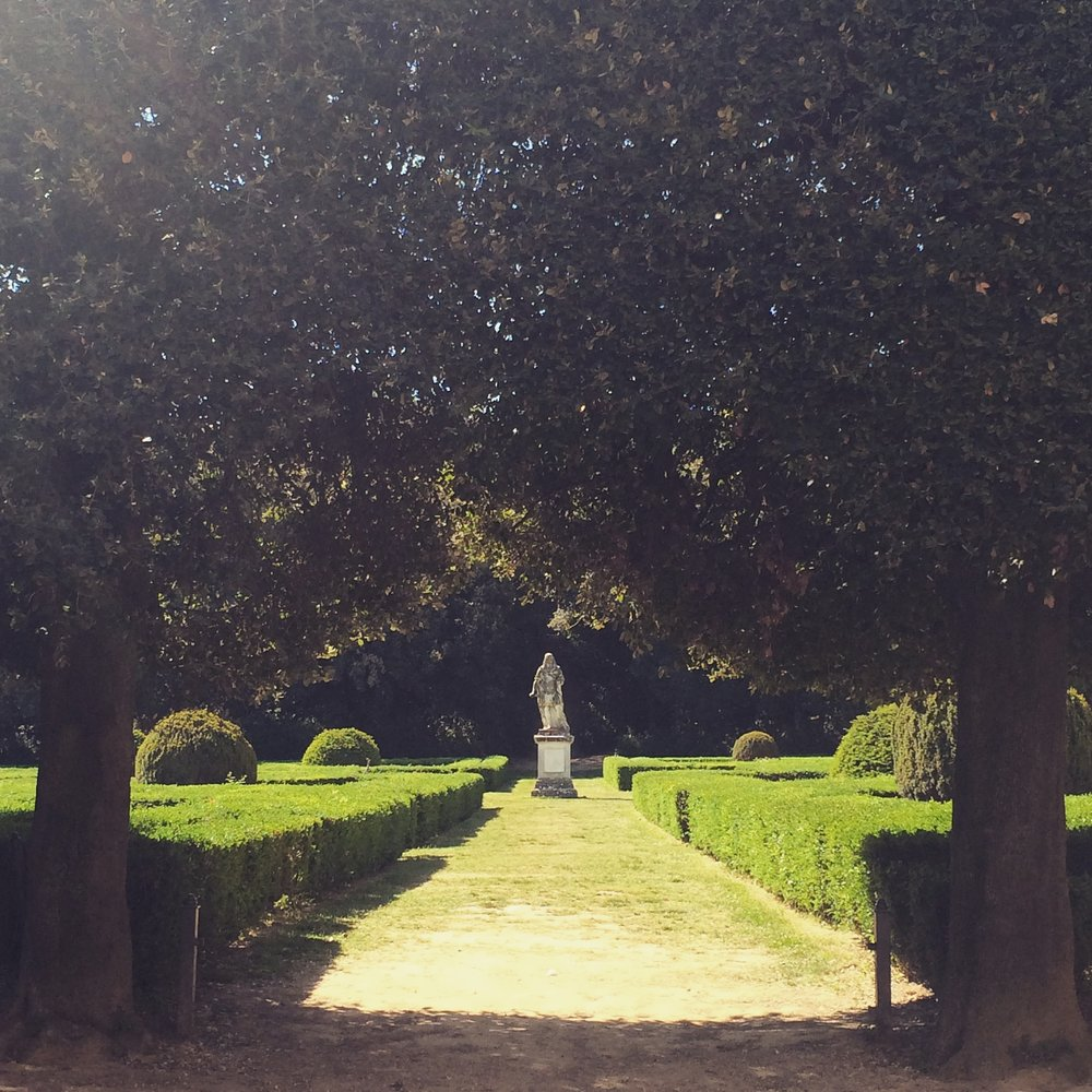 Tuscany Yoga Retreat - Beautiful Gardens - La Dolce Vigna Italy Wine Tours