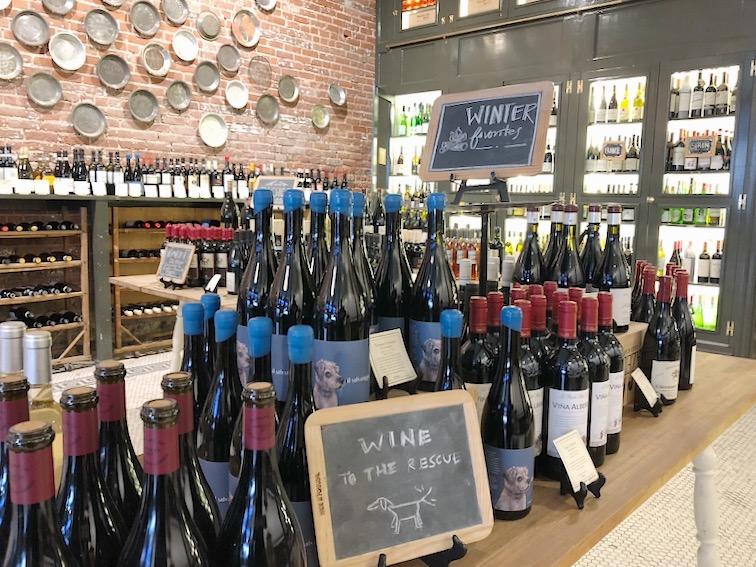 La Dolce Vigna Pasanella Wine Shop Visit