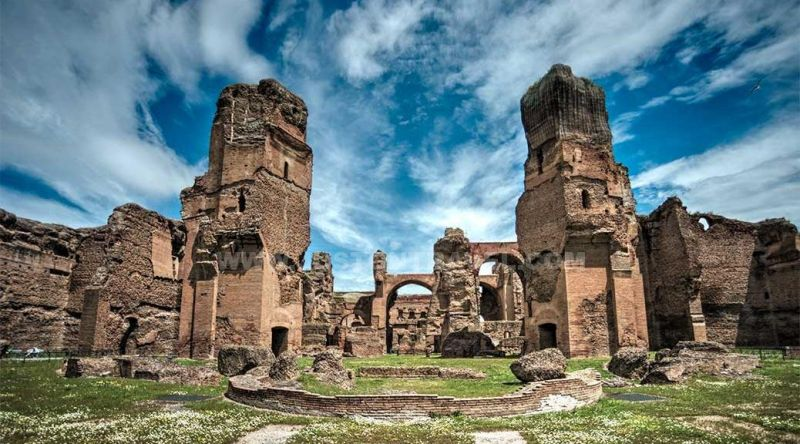 Things you Must do in Rome - Baths of Caracalla - La Dolce Vigna.jpg