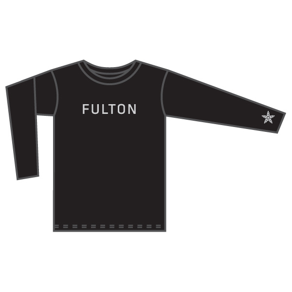 ( M ) Long Sleeve - Black            Small - XXL