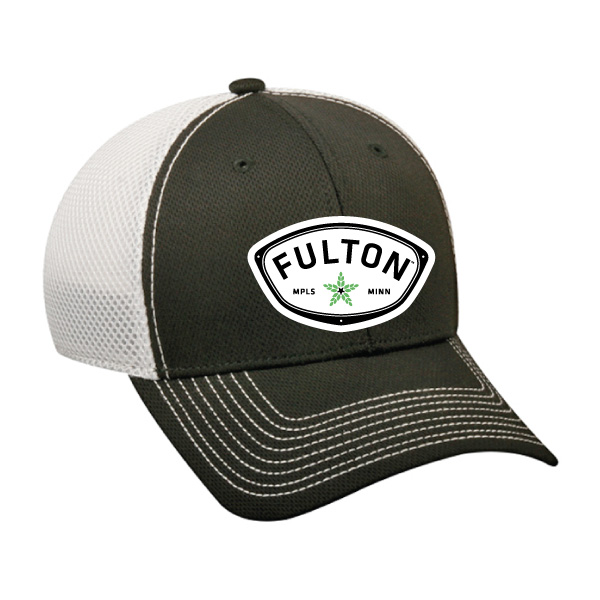 ( O ) Trucker Hat - Black                   OSFA