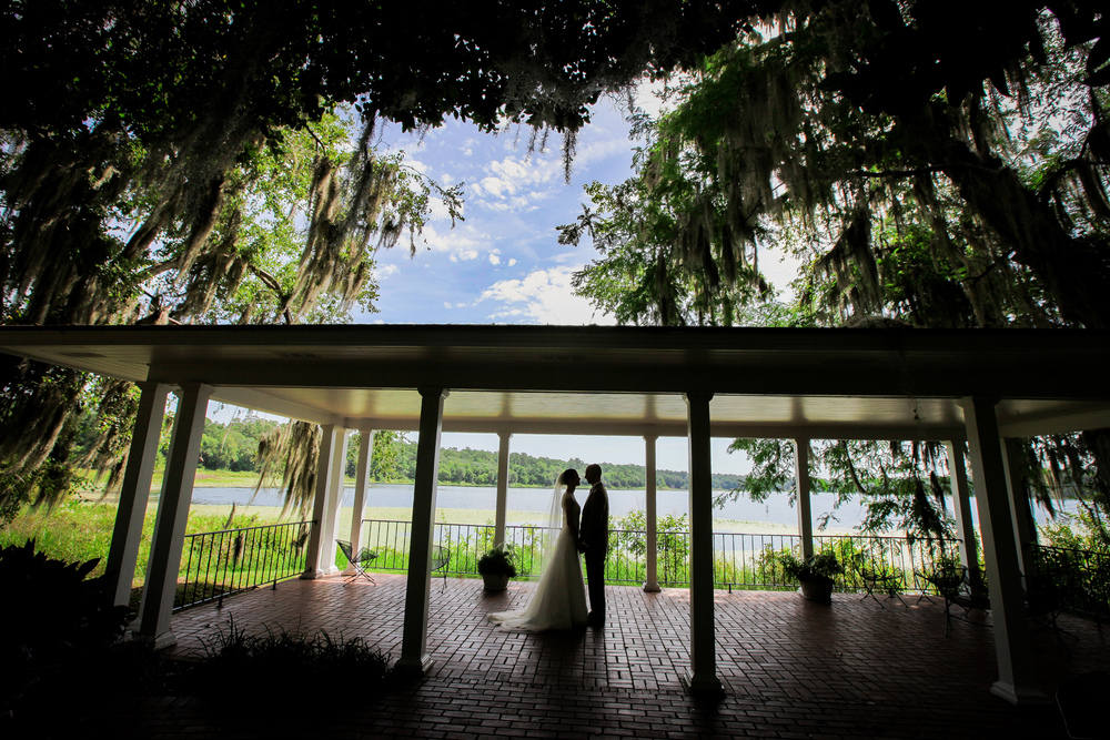 The beautiful  Lake Hall  at Alfred B.Maclay Garden.