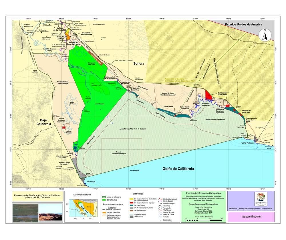 Upper Gulf of California Biosphere Reserve