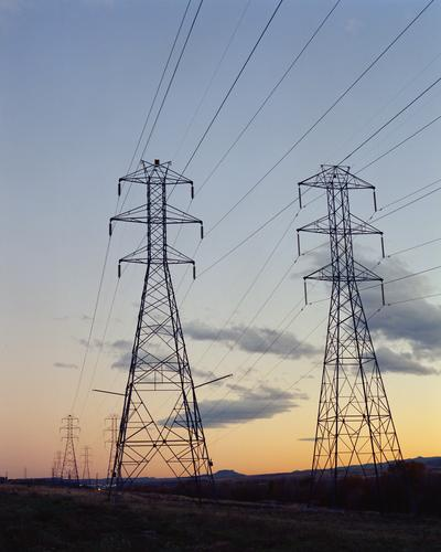 High voltage power transmission lines