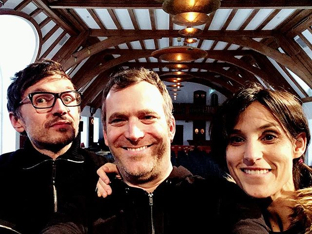 Joyful reunion&ready to roll @ @schlosselmau #bachspace #indieclassical #electronicbach #baroquereimagined @neuemeistermusic