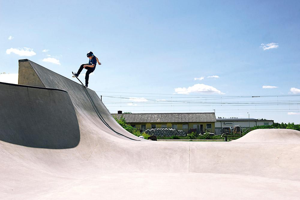 Ville Rockäng - Noseblunt. Foto Adam Klingeteg